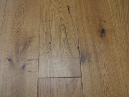Tradition Golden Engineered Oak Flooring, Natural, Handscraped, Lacquered, 190x14x1800 mm Image 1