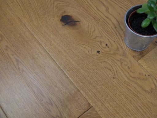 Tradition Golden Engineered Oak Flooring, Natural, Handscraped, Lacquered, 190x14x1800 mm Image 3