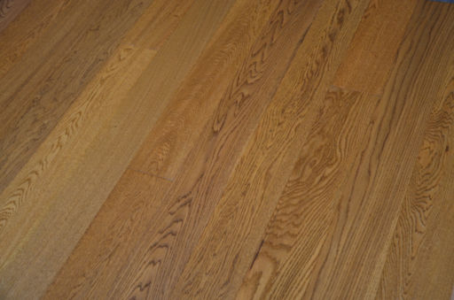 Tradition Golden Oak Engineered Flooring, Rustic, Handscraped Lacquered, 127x10x1200x mm Image 3