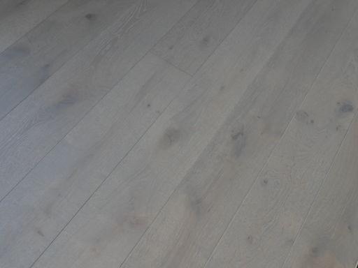 Tradition Harbour Grey Engineered Oak Parquet Flooring, Rustic, 190x14x1900 mm Image 1