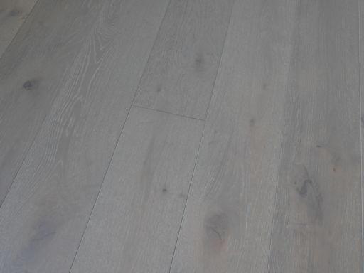 Tradition Harbour Grey Engineered Oak Parquet Flooring, Rustic, 190x14x1900 mm Image 3