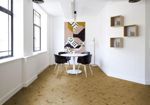 Tradition Luvanto Herringbone Design Country Oak Luxury Vinyl Flooring, 76.2x2.5x304.8 mm Image 1