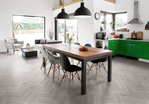 Tradition Luvanto Herringbone Design Pearl Oak Luxury Vinyl Flooring, 76.2x2.5x304.8 mm Image 1