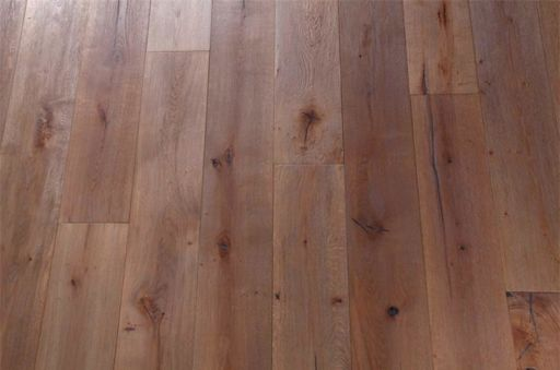 Tradition Mississippi Engineered Oak Parquet Flooring, Natural, Antique Distressed, 190x15x1900 mm Image 1