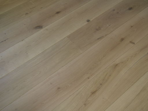 Tradition Unfinished Engineered Oak Flooring, Rustic, Brushed 260x15x2200 mm Image 1