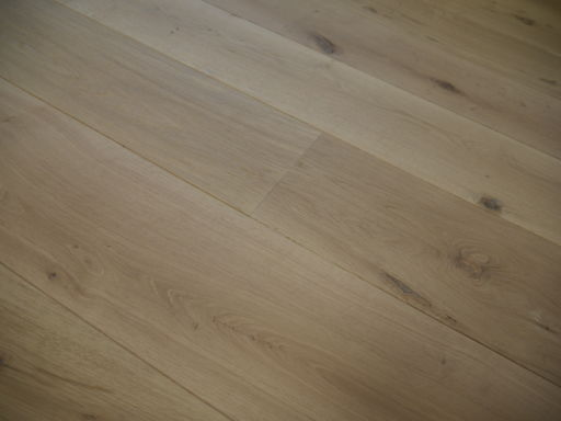 Tradition Unfinished Engineered Oak Flooring, Rustic, Brushed 260x15x2200 mm Image 2