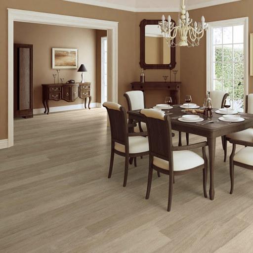 QuickStep ELITE Light Grey Varnished Oak Planks Laminate Flooring 8 mm Image 1
