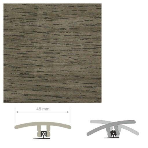 HDF Unistar Prestige Oak Threshold For Laminate Floors, 90 cm Image 2