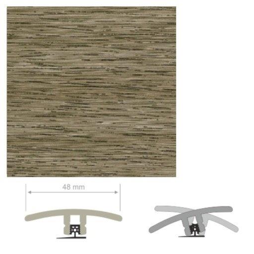 HDF Unistar Noble Oak Threshold For Laminate Floors, 90 cm Image 2