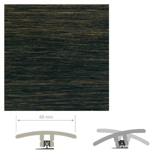 HDF Unistar Panga Panga Threshold For Laminate Floors, 90 cm Image 2