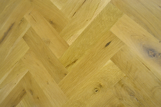 Oak Parquet Flooring Blocks, Rustic, 70x230x20 mm Image 1