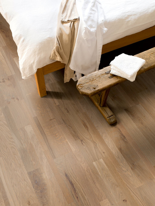 QuickStep Variano Champagne Brut Oak Engineered Flooring, Oiled, Multi-Strip, 190x3x14 mm Image 2