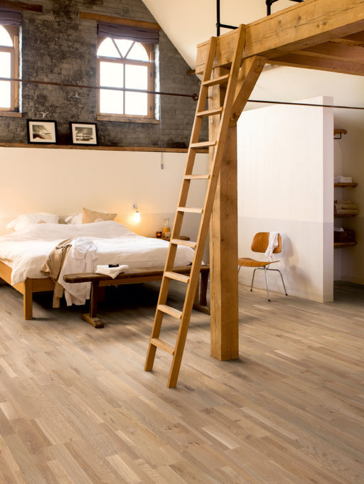 QuickStep Variano Champagne Brut Oak Engineered Flooring, Oiled, Multi-Strip, 190x3x14 mm Image 3