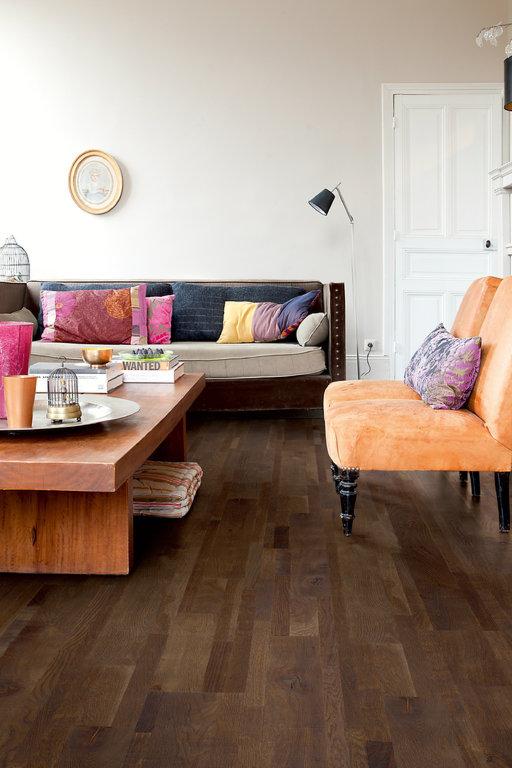 QuickStep Variano Espresso Blend Oak Engineered Flooring, Oiled, Multi-Strip, 190x3x14 mm Image 2