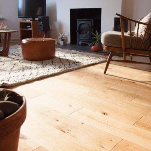V4 Vittoria Engineered Oak Flooring, Rustic, UV Oiled, 150x14xRL mm Image 2
