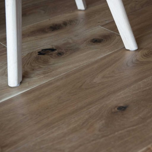 V4 Vittoria Engineered Smoked Oak Flooring, Rustic, UV Oiled, 190x14xRL mm Image 1