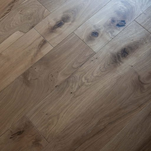 V4 Vittoria Engineered Smoked Oak Flooring, Rustic, UV Oiled, 190x14xRL mm Image 2