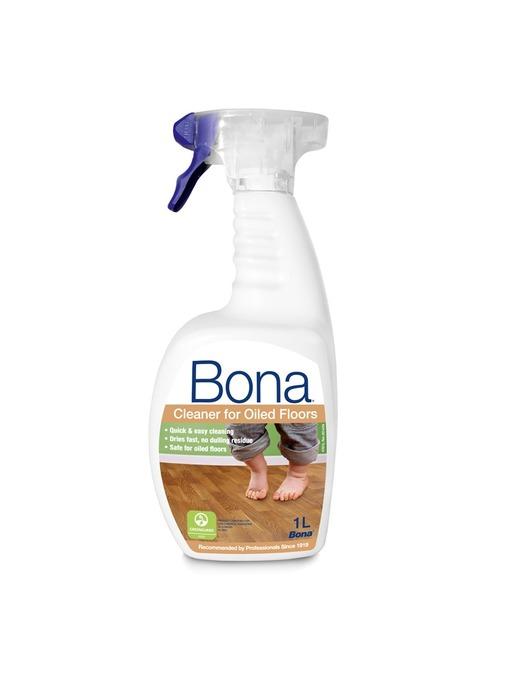 Bona Cleaner Spray for Oiled Floors, 1L Image 1