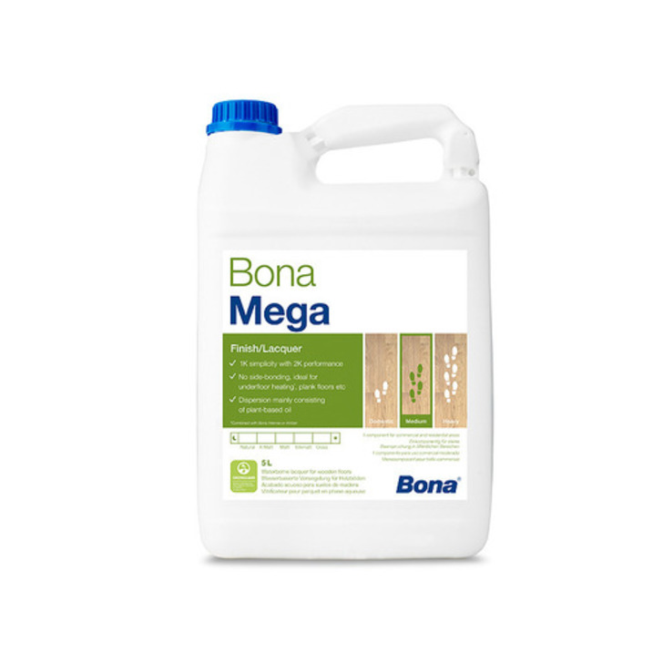 Bona Mega Extra Matt Varnish 5L Image 1