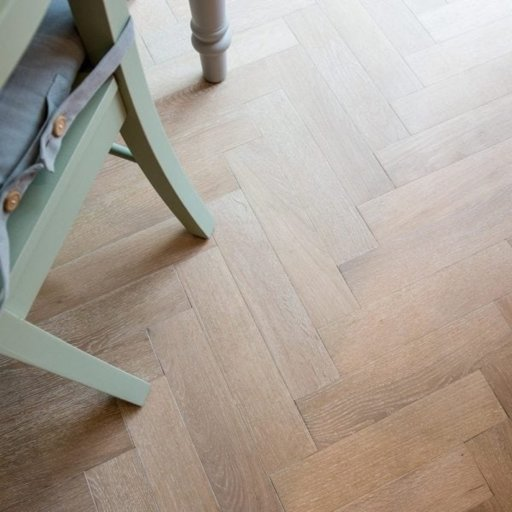 V4 Nordic Beach Engineered Oak Parquet Flooring, Rustic, Stained, Brushed & Hardwax Oiled, 90x15x360 mm Image 5