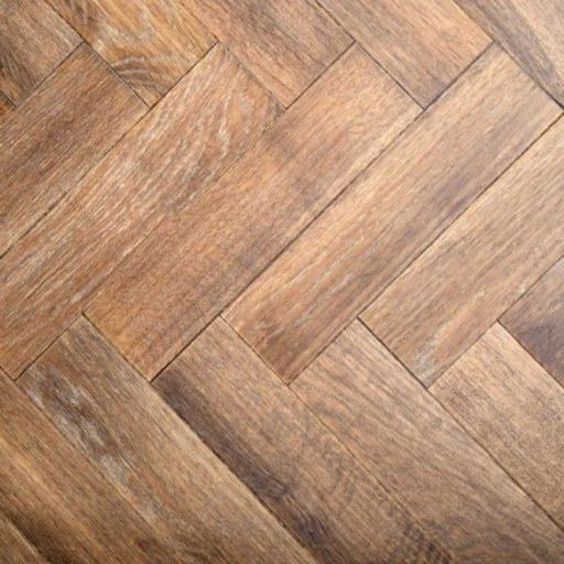 V4 Tannery Brown Engineered Oak Parquet Flooring, Rustic, Distressed, Stained, Handfinished & UV Oiled, 90x15x360 mm Image 3