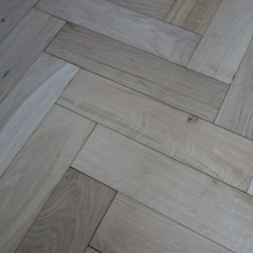 V4 Unfinished Engineered Oak Parquet Flooring, Smooth Sanded, Rustic, 90x15x360 mm Image 3
