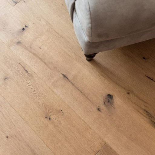V4 Weathered Beam Engineered Oak Flooring, Rustic, Hand finished, Brushed & UV Hardwax Oiled, 190x15x1900 mm Image 1