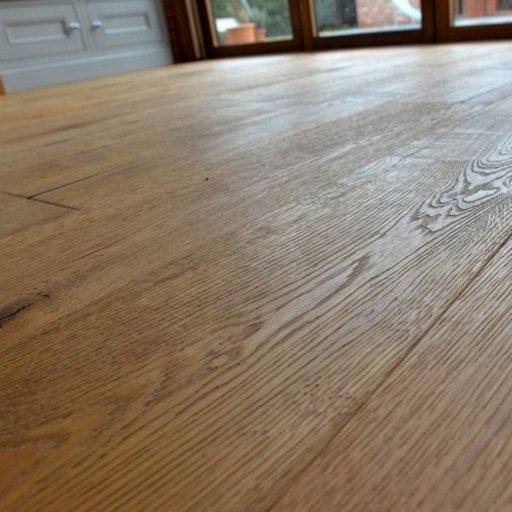 V4 Weathered Beam Engineered Oak Flooring, Rustic, Hand finished, Brushed & UV Hardwax Oiled, 190x15x1900 mm Image 2