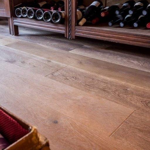V4 Fired Brick Engineered Oak Flooring, Rustic, Hand finished, Brushed & UV Oiled, 190x15x1900 mm Image 3