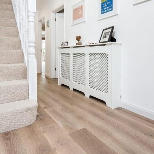 V4 Fired Brick Engineered Oak Flooring, Rustic, Hand finished, Brushed & UV Oiled, 190x15x1900 mm Image 4