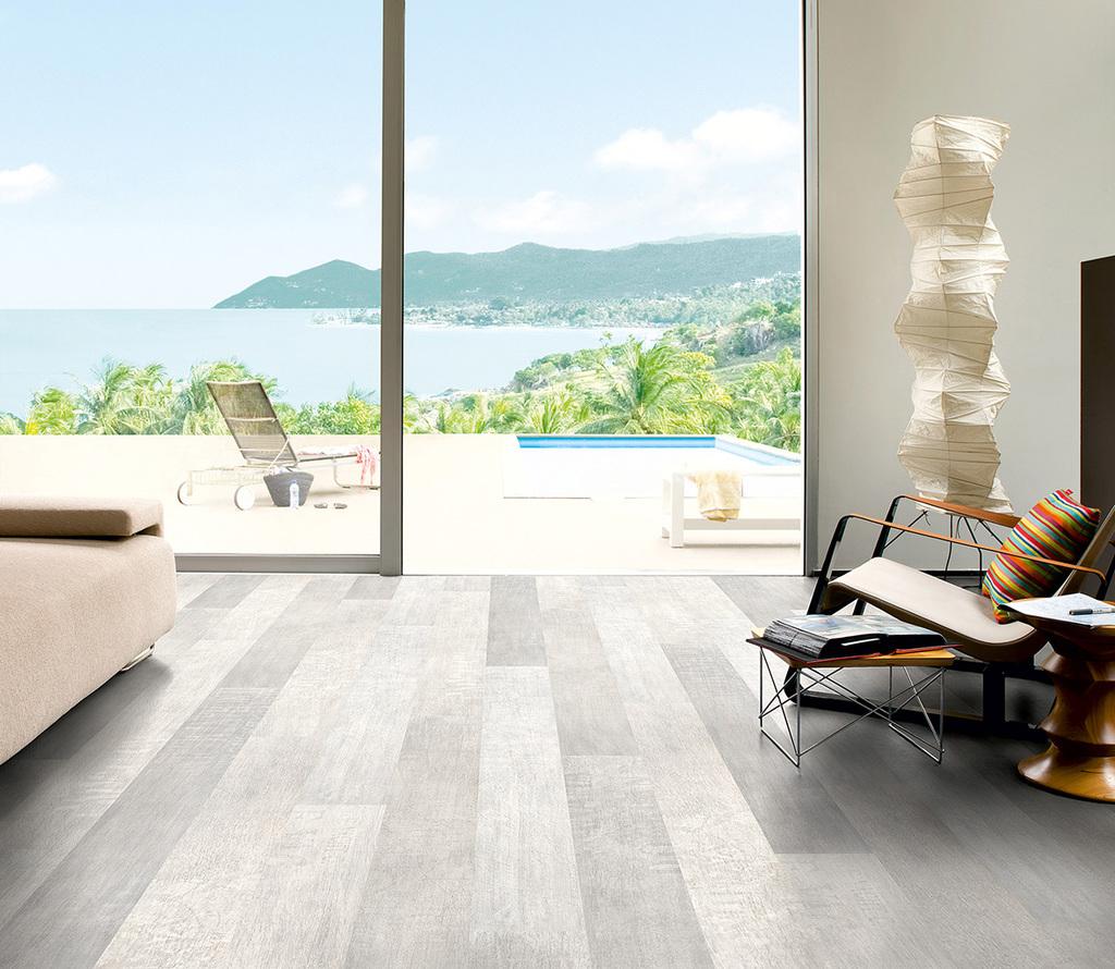 Laminate flooring and QuickStep