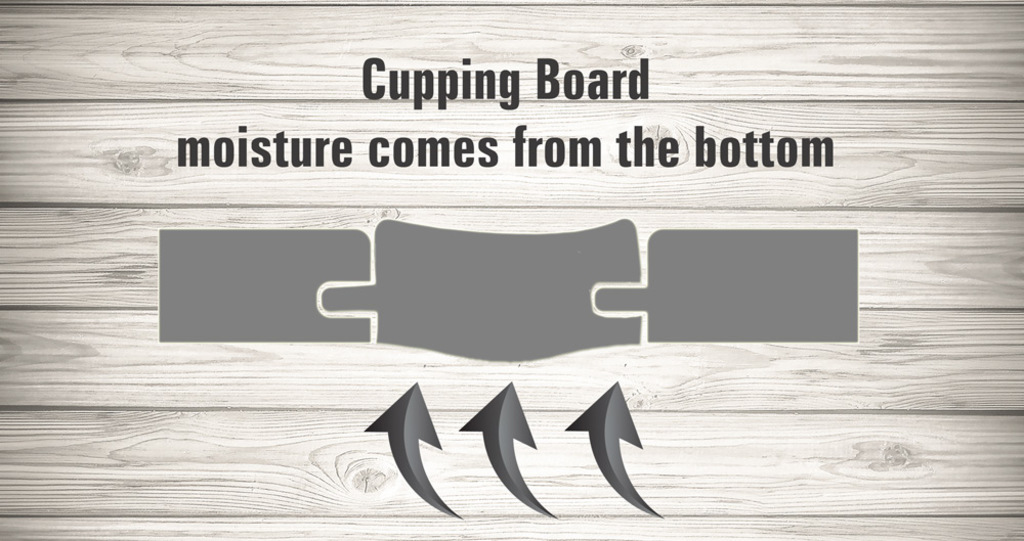 cupping board floor damage
