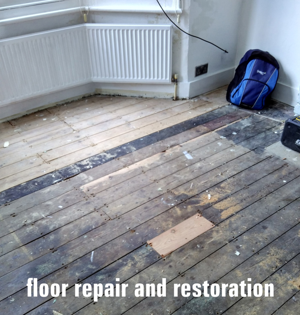 floor repair and restoration