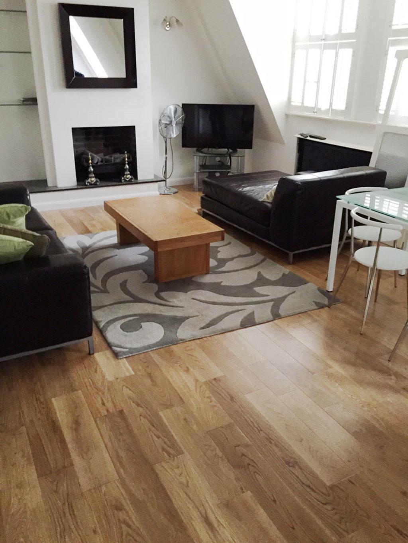 Wood Floors In Living Room