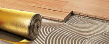 Floor Underlay, Adhesives