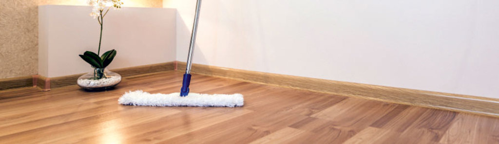 Laminate flooring – Maintenance