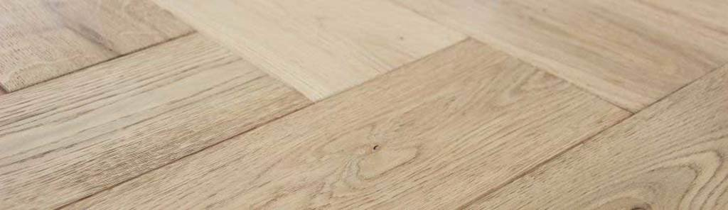 What is herringbone flooring?