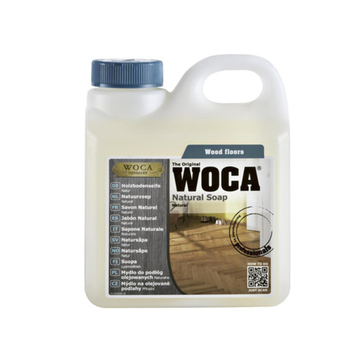 WOCA Natural Soap For Oiled Wood Floor, 1L