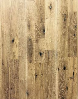 Anbo Style Fingerjoint Solid Oak Flooring, Smoked & White Washed, Lacquered, 203x18 mm