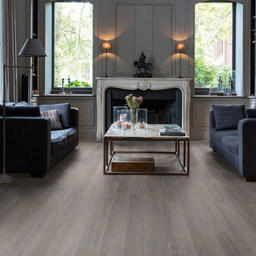 QuickStep Livyn Balance Click Silk Oak Dark Grey Vinyl Flooring