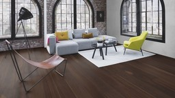 Boen Prestige Oak Smoked Parquet Flooring, Live Natural Oiled, Natural, 10x70x590 mm