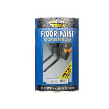 Everbuild Floor Paint,  Matt Grey, 5L