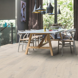 QuickStep Massimo Frozen Oak Engineered Flooring, Extra Matt Lacquered, 260x2.5x14 mm