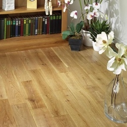 Tradition Solid Oak Flooring, Rustic, Lacquered, 125x18 mm