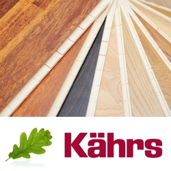 Kahrs Philadelphia Walnut Engineered 2-Strip Wood Flooring, Lacquered, 200x3.5x15 mm