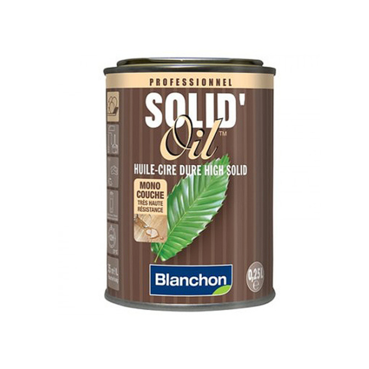 Blanchon Solid Oil, Black, 0.25 L