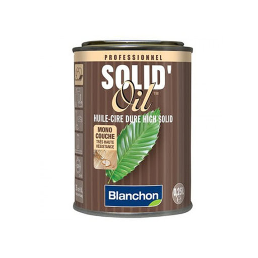 Blanchon Solid Oil, Metallic Grey, 0.25 L
