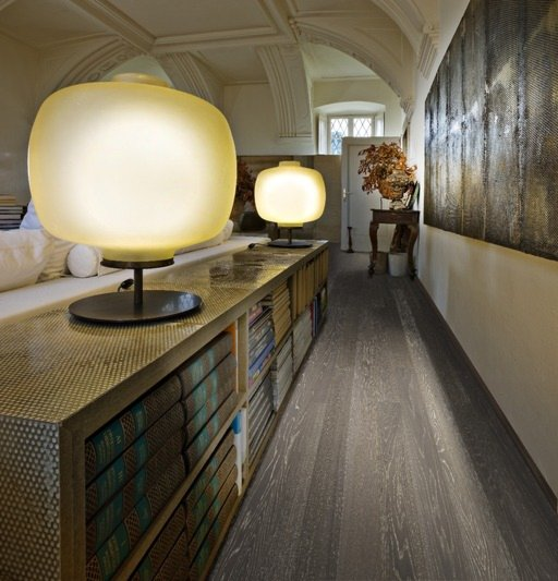 Kahrs Cliff Oak Engineered Wood Flooring, Lacquered, 125x1.5x10 mm