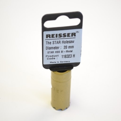 Reisser HSS Bi-Metal Holesaw, 20 mm