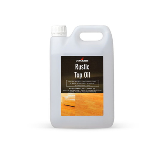 Junckers Rustic Top Oil, Black, 2.5 L
